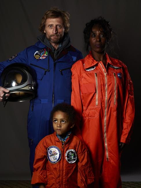 JEROME BREZILLON, Momo galerie, NASA Patch, astronaut portrait, Le rêve de laika, the laika dream, apollo mission 21, romaric tisserand, jérôme brézillon